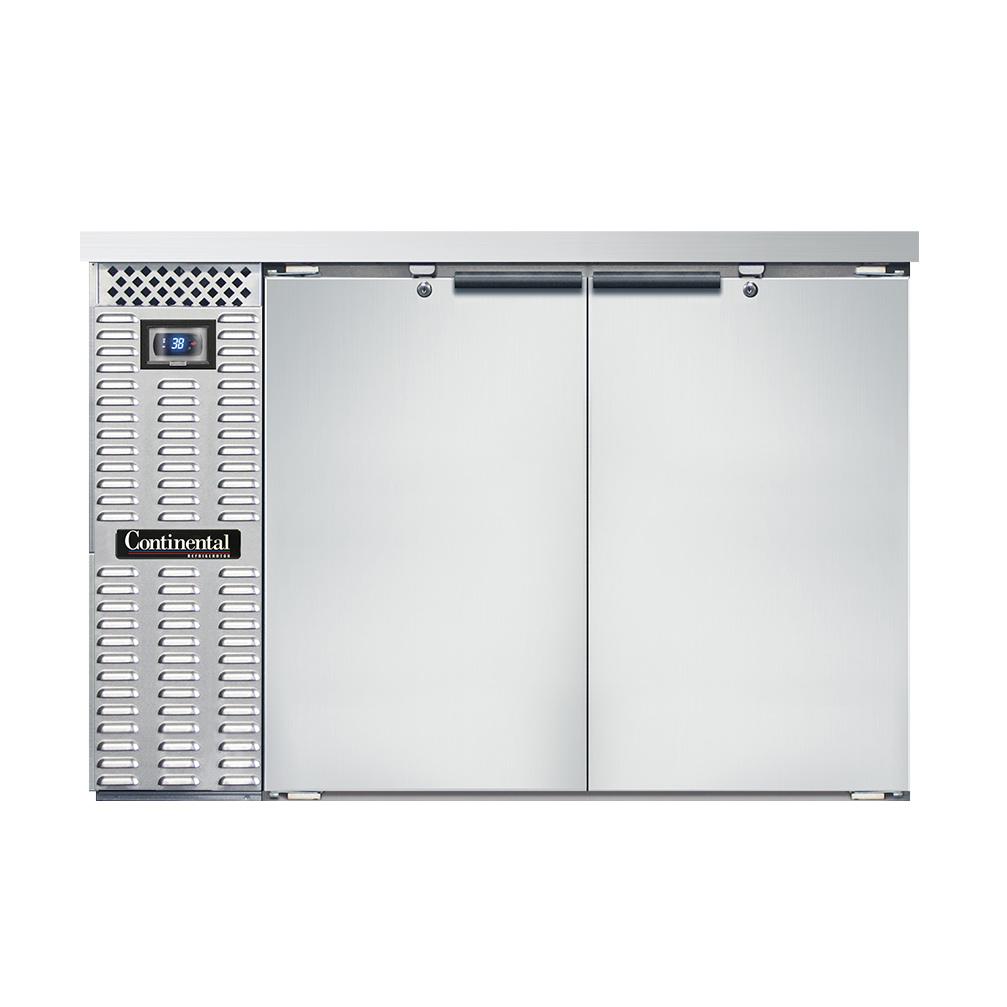 Continental Refrigerator BBC50S-SS back bar cabinet, refrigerated