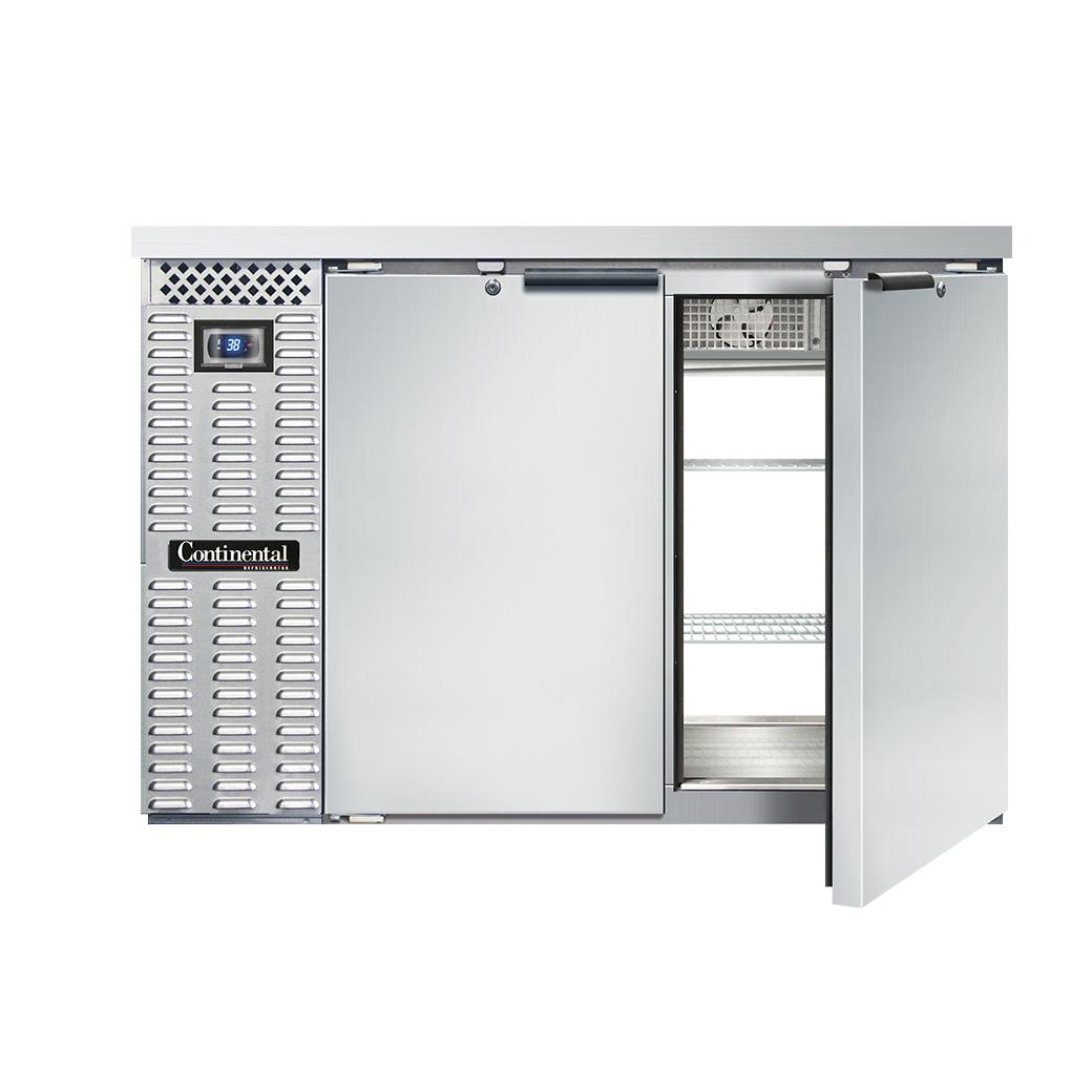Continental Refrigerator BB50SNSSPT back bar cabinet, refrigerated, pass-thru