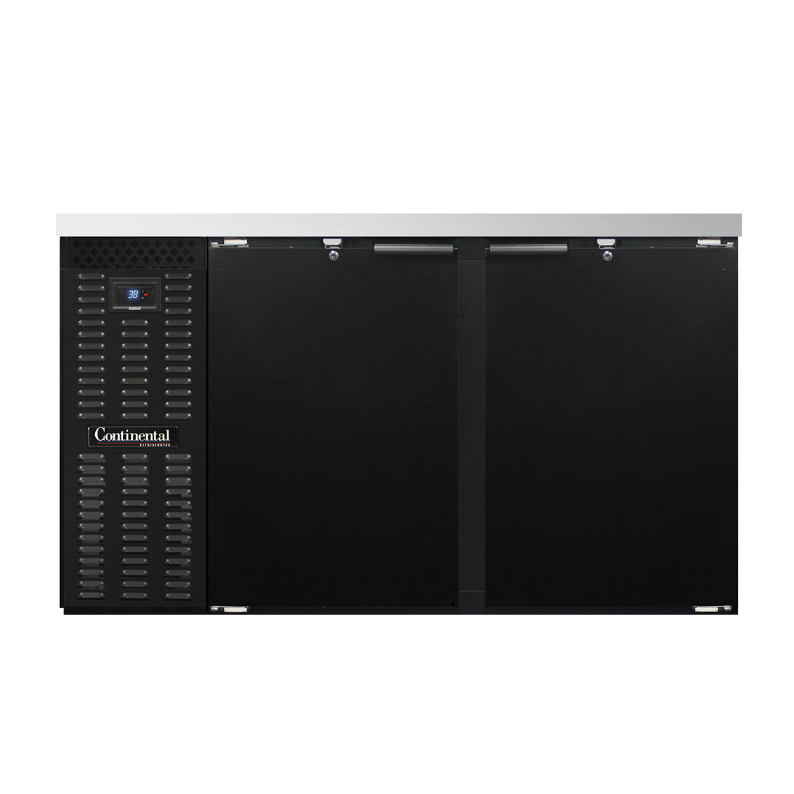Continental Refrigerator BB59N back bar cabinet, refrigerated