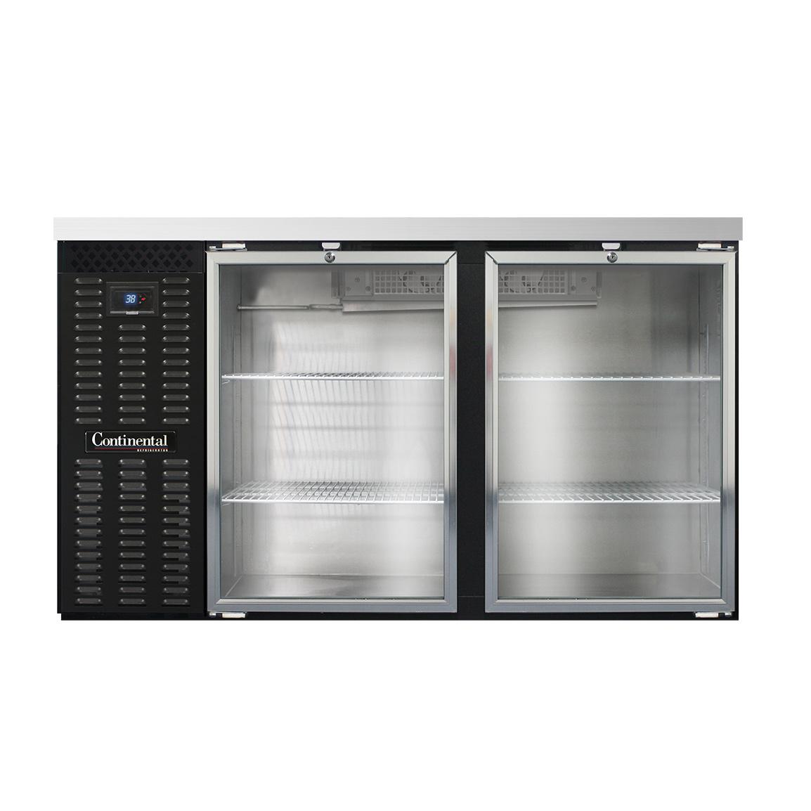 Continental Refrigerator BB59NGD back bar cabinet, refrigerated