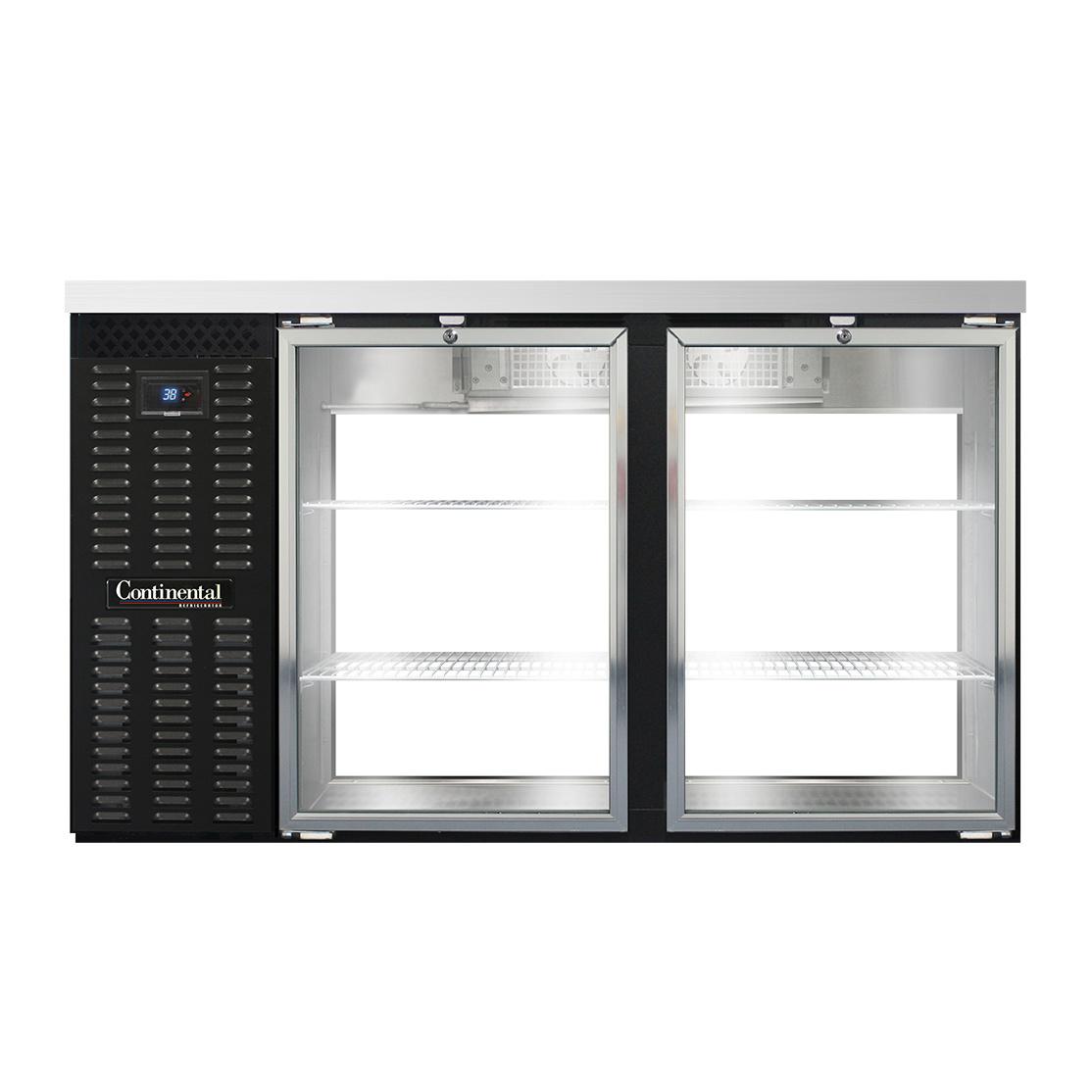 Continental Refrigerator BB59NGDPT back bar cabinet, refrigerated, pass-thru