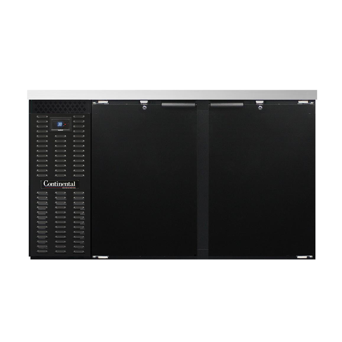 Continental Refrigerator BB59SN back bar cabinet, refrigerated