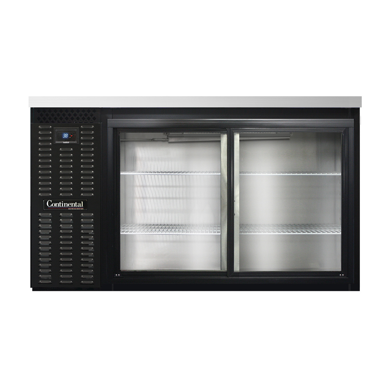 Continental Refrigerator BB59NSGD back bar cabinet, refrigerated