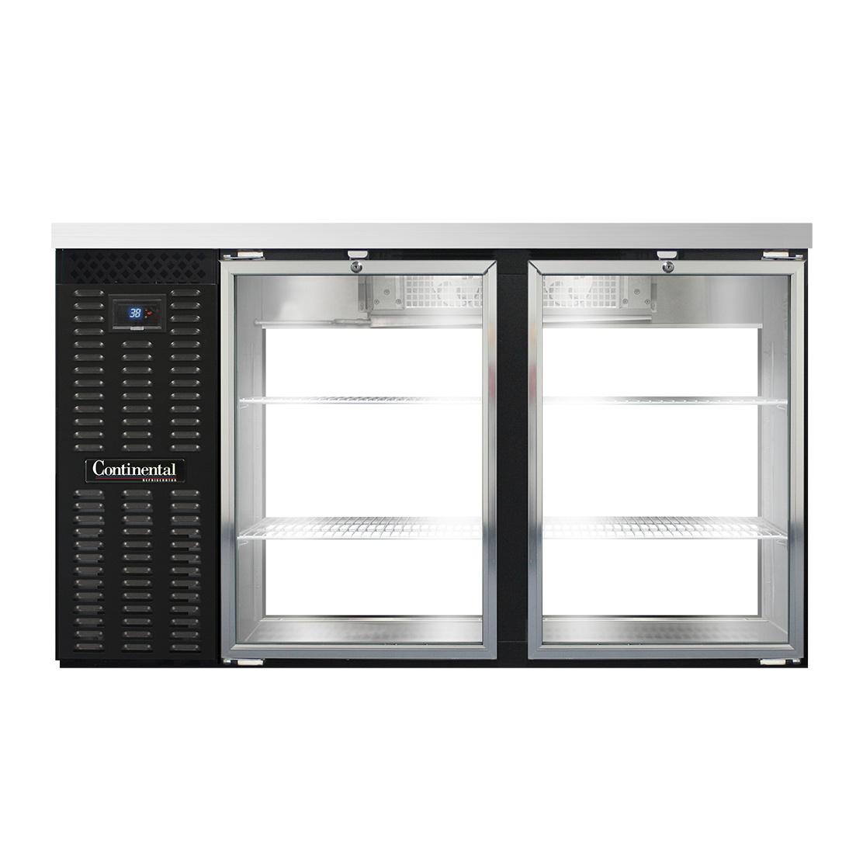 Continental Refrigerator BB59NSGDPT back bar cabinet, refrigerated, pass-thru
