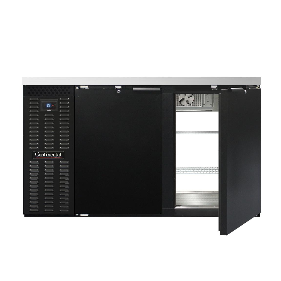 Continental Refrigerator BBC59S-PT back bar cabinet, refrigerated, pass-thru