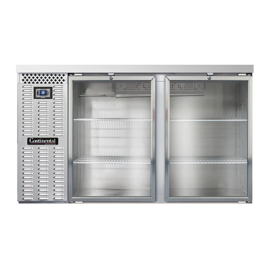 Continental Refrigerator BBC59S-SGD back bar cabinet, refrigerated