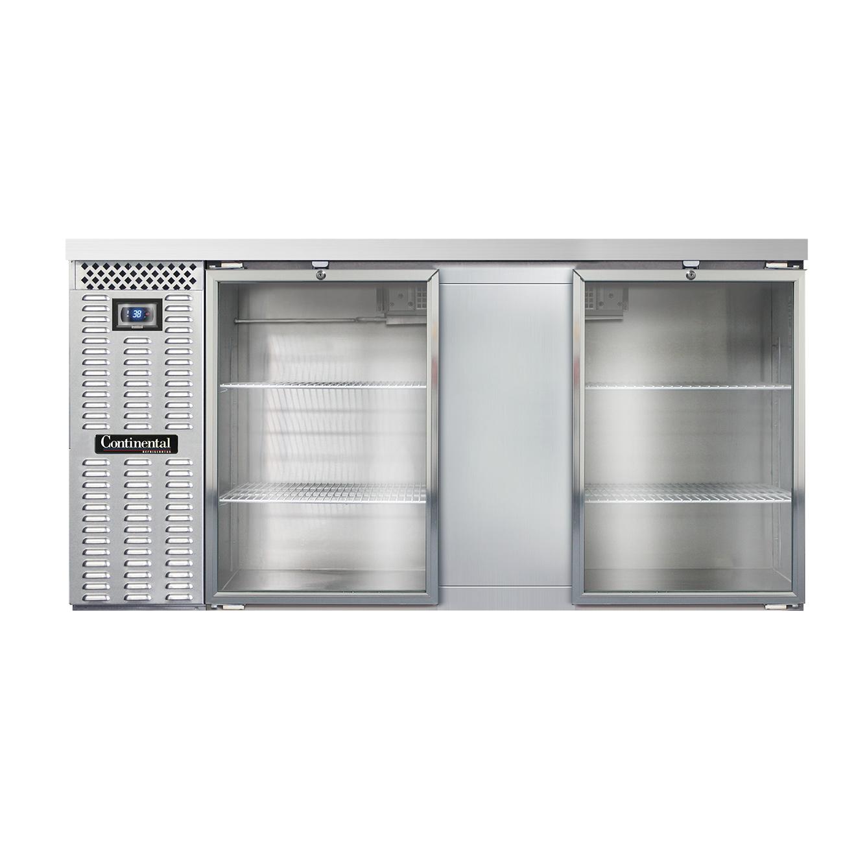 Continental Refrigerator BB69SNSGD back bar cabinet, refrigerated