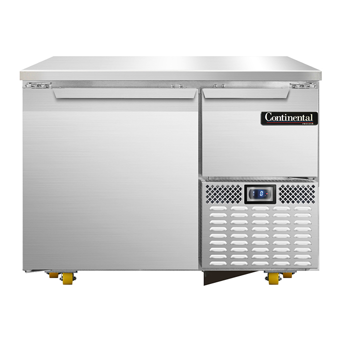 Continental Refrigerator CFA43-U freezer, undercounter, reach-in