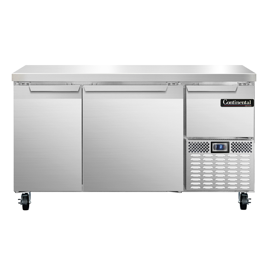 Continental Refrigerator CFA60 freezer counter, work top