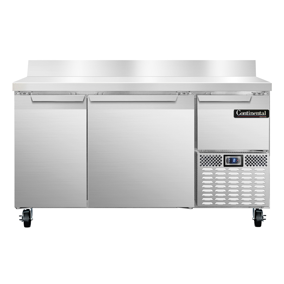 Continental Refrigerator CFA60-BS freezer counter, work top