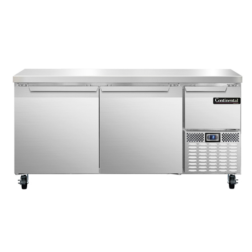 Continental Refrigerator CFA68 freezer counter, work top