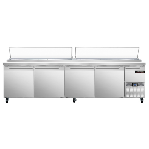 Continental Refrigerator CPA118+ refrigerated counter, pizza prep table