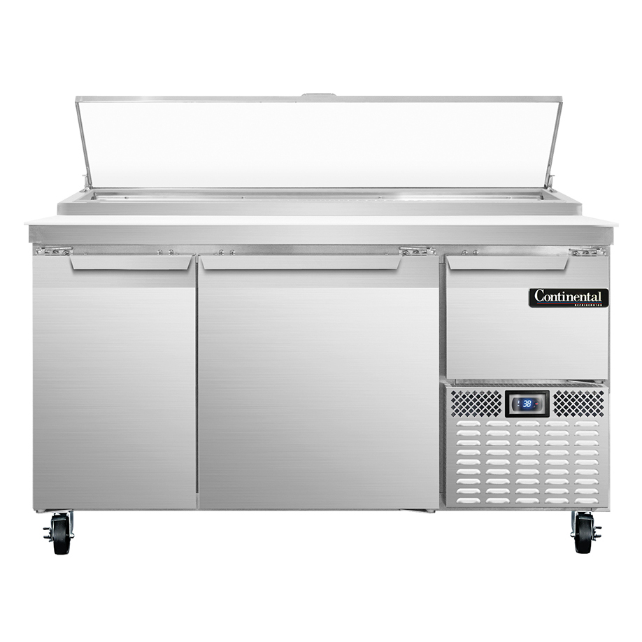 Continental Refrigerator PA60N refrigerated counter, pizza prep table