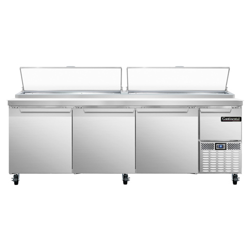 Continental Refrigerator CPA93 refrigerated counter, pizza prep table