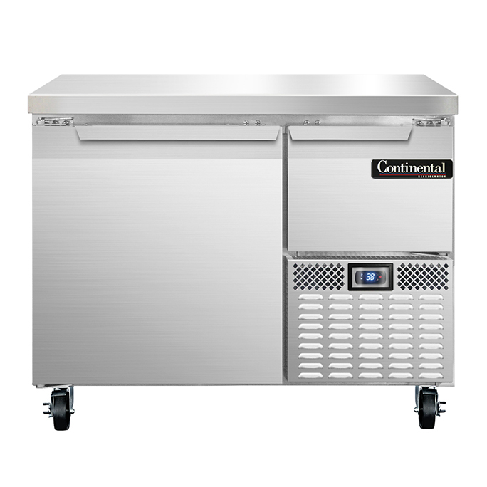 Continental Refrigerator RA43N refrigerated counter, work top