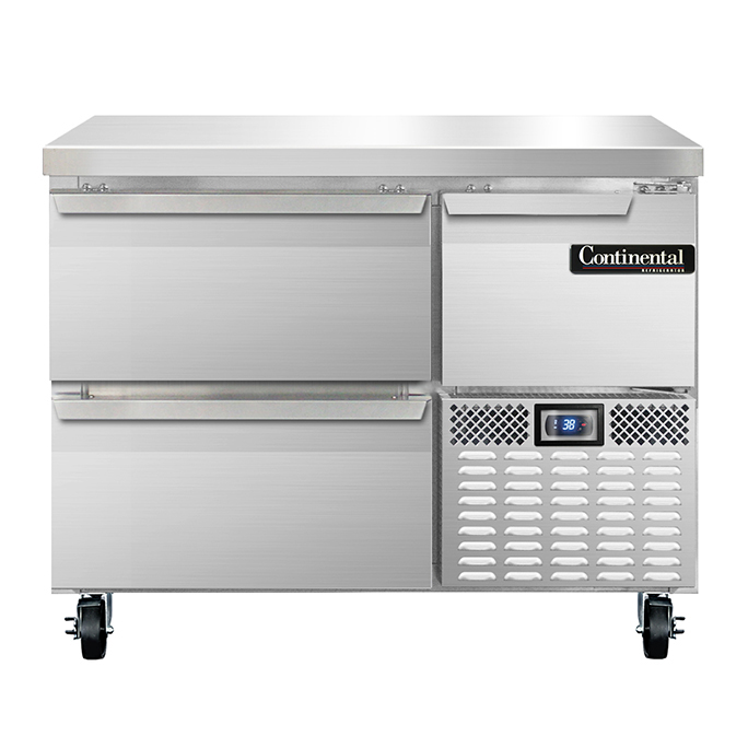 Continental Refrigerator RA43N-D refrigerated counter, work top