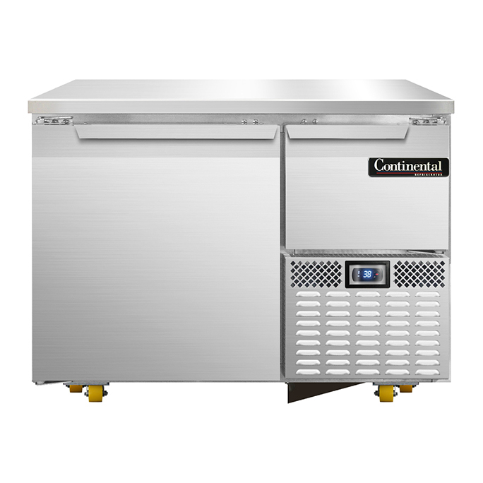 Continental Refrigerator RA43N-U refrigerator, undercounter, reach-in