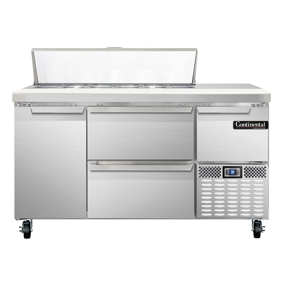 Continental Refrigerator RA60N12-D refrigerated counter, sandwich / salad unit