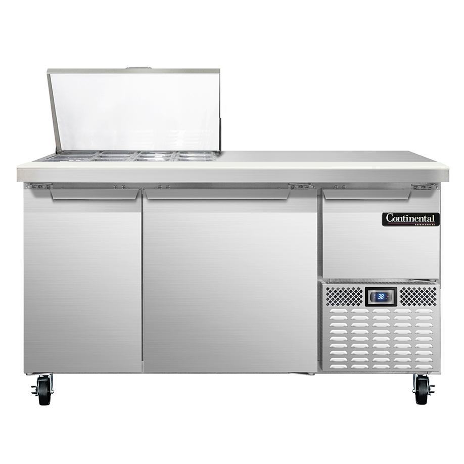Continental Refrigerator RA60N12M refrigerated counter, mega top sandwich / salad unit