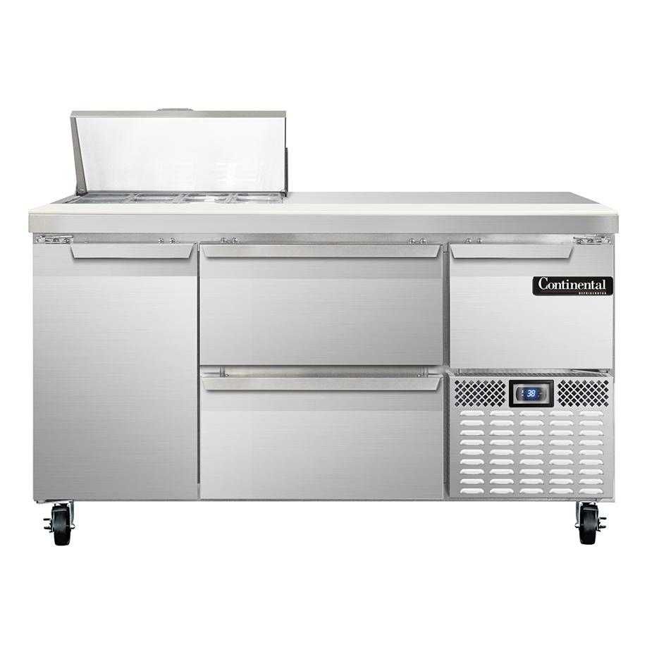 Continental Refrigerator RA60N8-D refrigerated counter, sandwich / salad unit