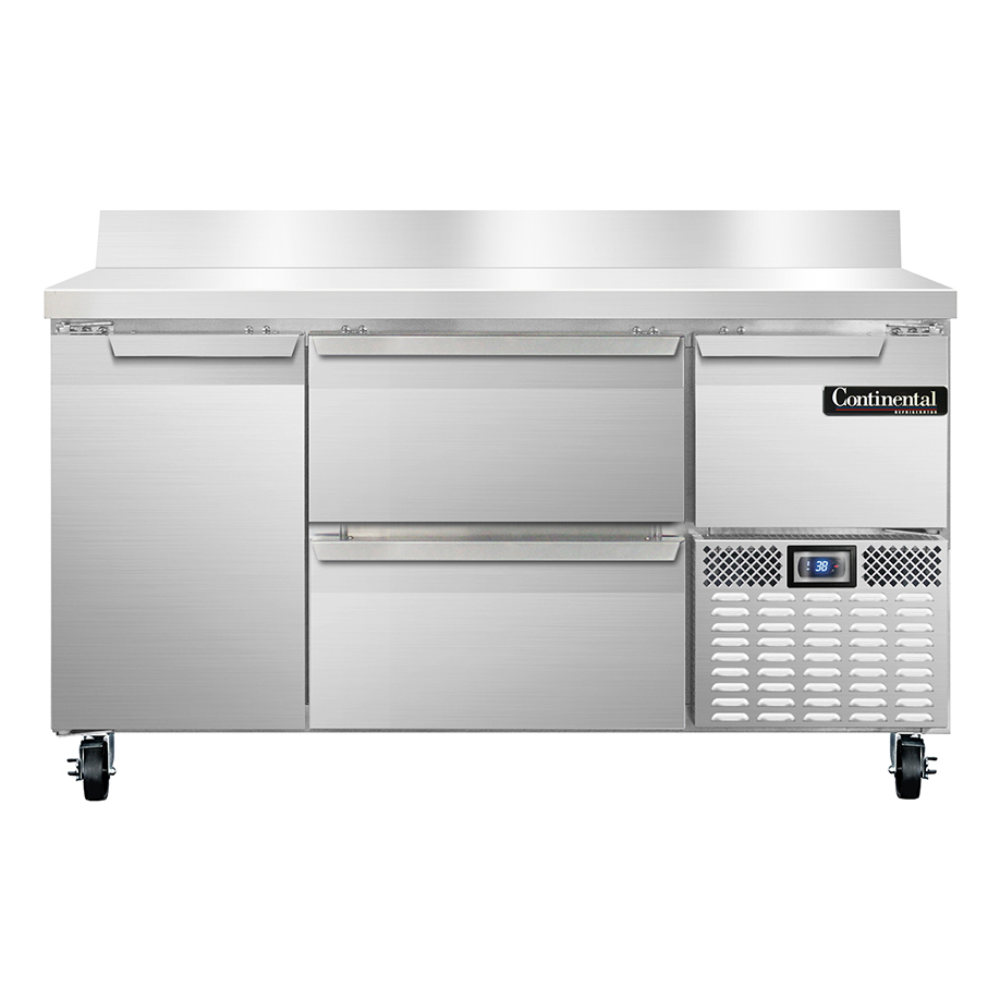 Continental Refrigerator RA60NBS-D refrigerated counter, work top