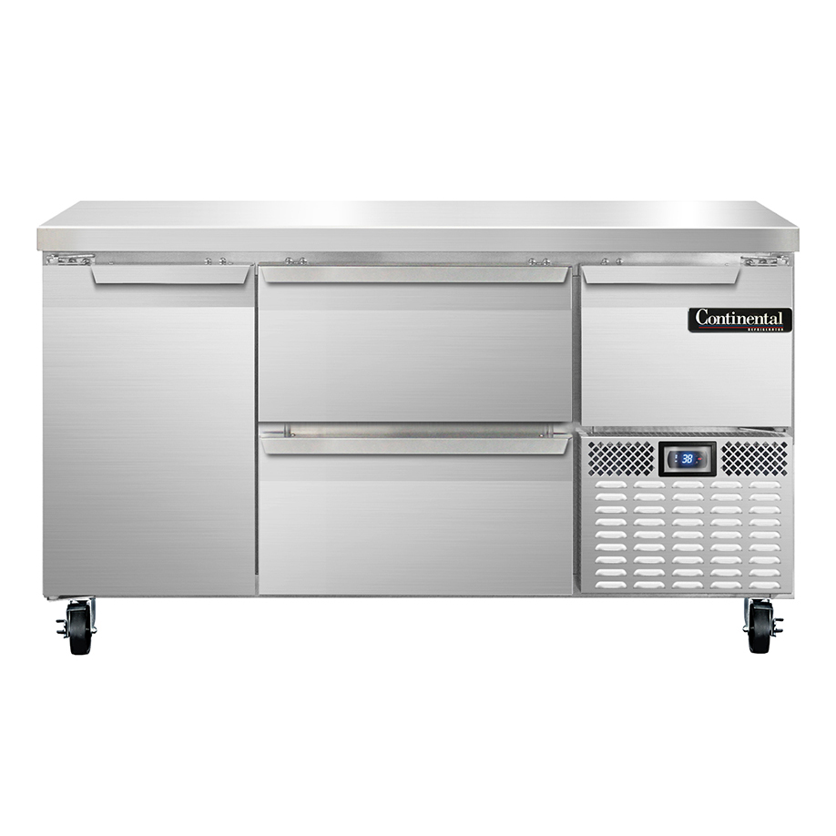 Continental Refrigerator RA60N-D refrigerated counter, work top