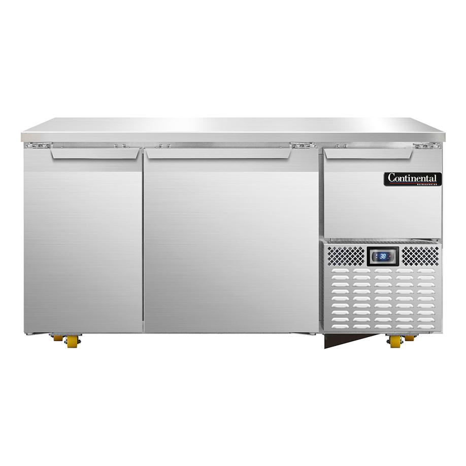 Continental Refrigerator RA60N-U refrigerator, undercounter, reach-in
