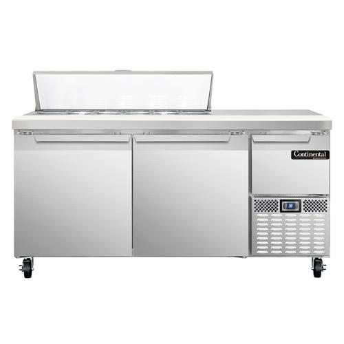 Continental Refrigerator RA68N12 refrigerated counter, sandwich / salad unit