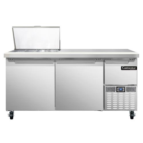 Continental Refrigerator RA68N12M refrigerated counter, mega top sandwich / salad unit