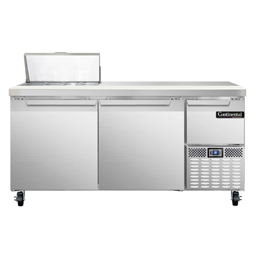 Continental Refrigerator CRA68-8 refrigerated counter, sandwich / salad unit