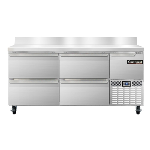 Continental Refrigerator RA68NBS-D refrigerated counter, work top