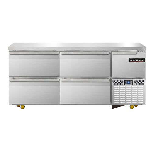 Continental Refrigerator RA68N-U-D refrigerator, undercounter, reach-in