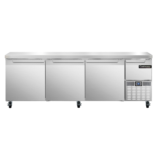 Continental Refrigerator RA93N refrigerated counter, work top
