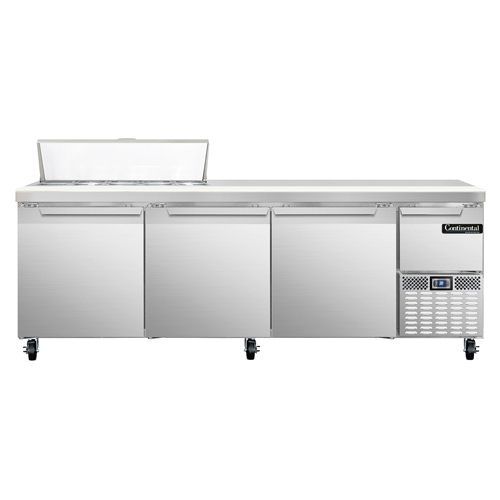 Continental Refrigerator CRA93-10 refrigerated counter, sandwich / salad unit