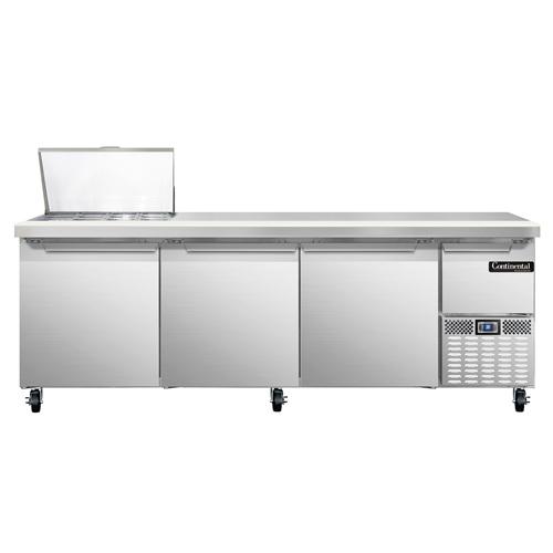 Continental Refrigerator RA93N12M refrigerated counter, mega top sandwich / salad unit