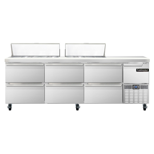 Continental Refrigerator RA93N18-D refrigerated counter, sandwich / salad unit