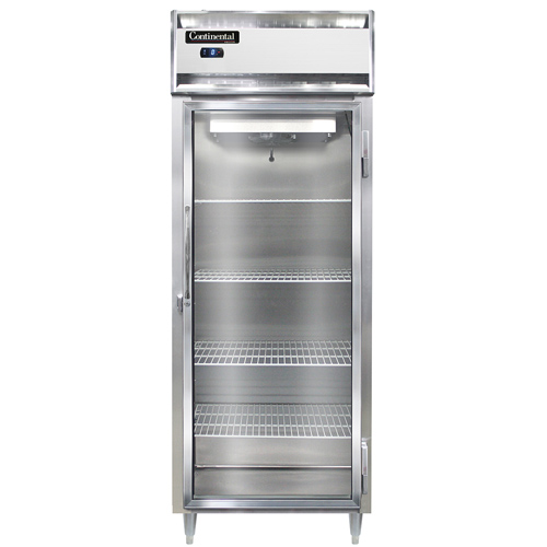 Continental Refrigerator DL1FES-GD freezer, reach-in