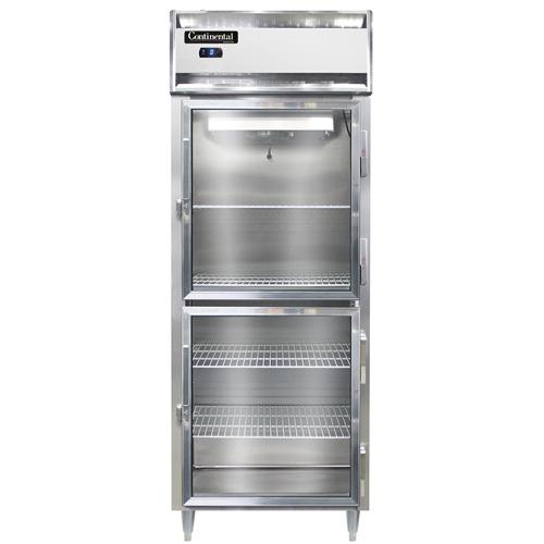 Continental Refrigerator DL1FES-SA-GD-HD freezer, reach-in
