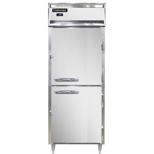 Continental Refrigerator DL1FE-SS-HD freezer, reach-in