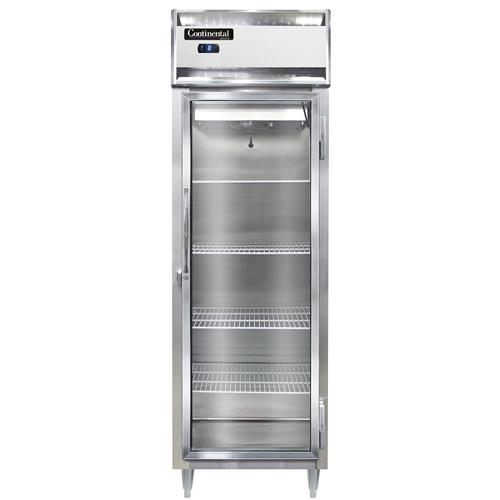 Continental Refrigerator DL1F-GD freezer, reach-in