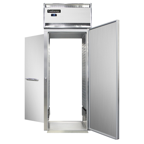 Continental Refrigerator DL1FI-SS-RT freezer, roll-thru