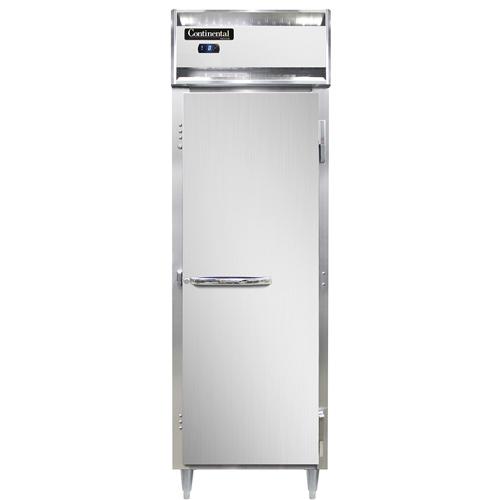 Continental Refrigerator DL1F-SS freezer, reach-in