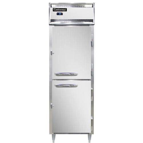 Continental Refrigerator DL1F-SS-HD freezer, reach-in