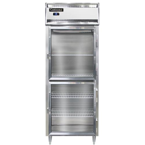 Continental Refrigerator DL1RE-SA-GD-HD refrigerator, reach-in