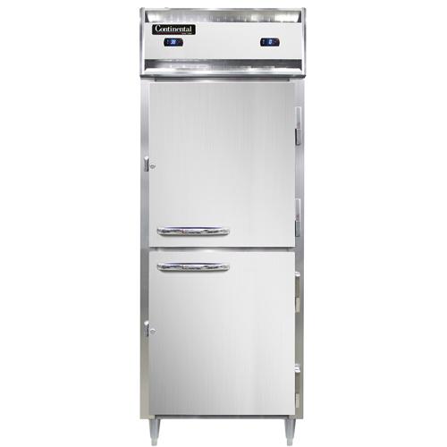 Continental Refrigerator D1RFESNSAHD* refrigerator freezer, reach-in