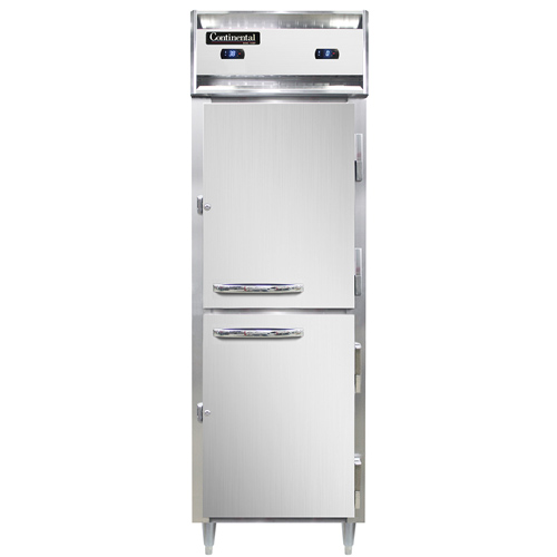 Continental Refrigerator D1RFNSAHD* refrigerator freezer, reach-in