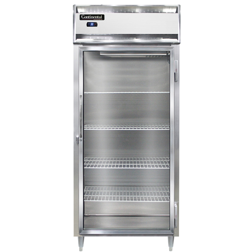 Continental Refrigerator DL1RXS-SA-GD refrigerator, reach-in