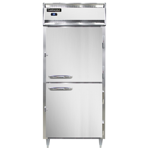 Continental Refrigerator DL1RXS-SA-HD refrigerator, reach-in