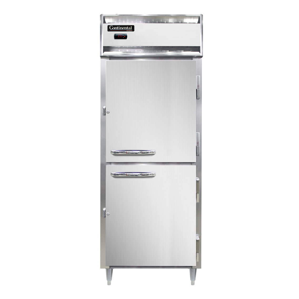 Continental Refrigerator DL1WE-SA-HD heated cabinet, reach-in