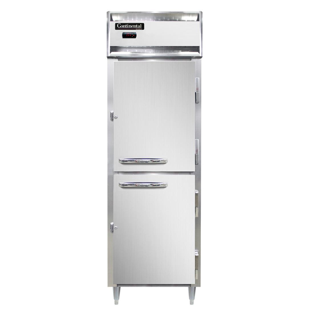 Continental Refrigerator DL1W-HD heated cabinet, reach-in